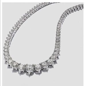 Classic Diamond Necklace from Macys Fine Jewelry
